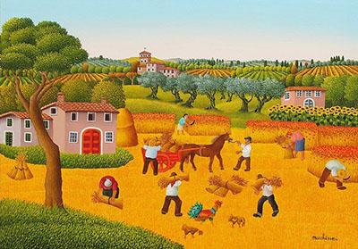 Dipinto di Cesare Marchesini