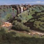La Cascata delle Marmore vista da Corot